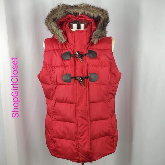 🆕️Charter Club Hooded Zip Vest - Faux Fur